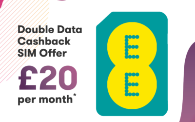 EE Double Data Cashback Offer – £20 a month and £50 cashback