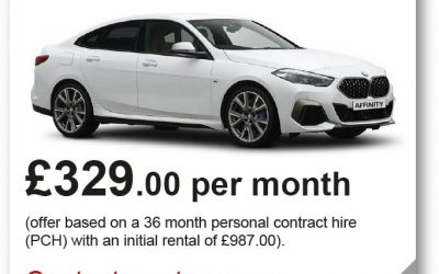 Affinity Leasing BMW Offer
