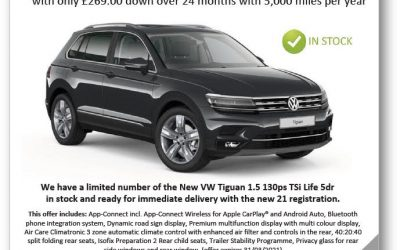 Affinity Leasing Offers – VW Tiguan