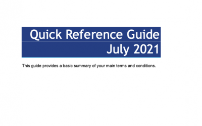 Police Federation – Quick Reference Guide Update